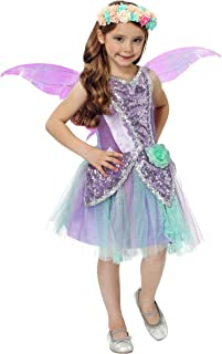 Girl's Fairy Costume Fairy Wings and Dress for Girls