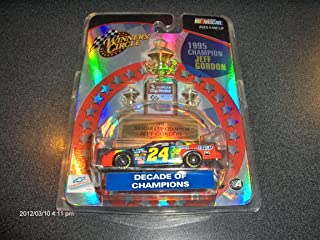 Jeff Gordon #24 Dupont Decade of Champions 1995 Champion 1:64 scale 2003 Winners Circle Diecast Car