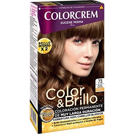 Colorcrem - Tinte permanente mujer - tono 73 Rubio Dorado ...