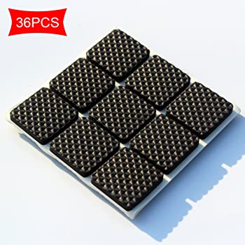Topes Adhesivos Protectores,Amortiguador de Tope de Elasticidad Autoadhesivo Negro de 254 Piezas, Tope Amortiguador de Muebles para computadora, cajones, electrodomésticos (6 tamaños) (Negro): Amazon.es: Bricolaje y herramientas