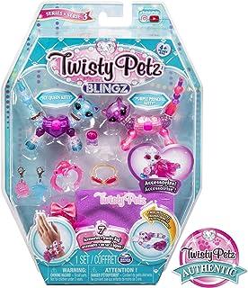 Twisty Petz, Series 3 Blingz, Kitty & Cat Customizable Bracelet Set For Kids Aged 4 & Up