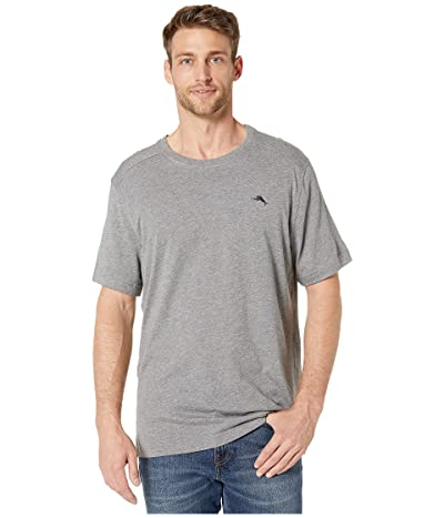 Tommy Bahama Crew Neck Lounge T-Shirt (Heather Grey) Men