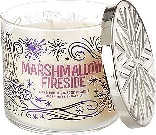 Bath & Body Works Marshmallow Fireside 14.5oz 3 Wick Candle
