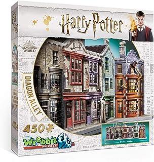 WREBBIT PUZZLES- Harry Potter Diagon Alley Puzzle 3D, W3D-1010, Multicolore
