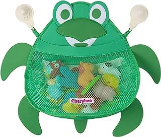 CHERABOO Bath Toy Organizer, Bath Toy Storage, Bathtub Toy Organizer, Bath Toy Holder, Bathtub Toy Holder, Bath Toy Net, Baby Bath Toy Organizer (Terry Turtle)
