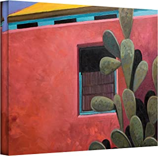 Art Wall Adobe Color Gallery Wrapped Canvas Art by Rick Kersten, 18 by 24-Inch