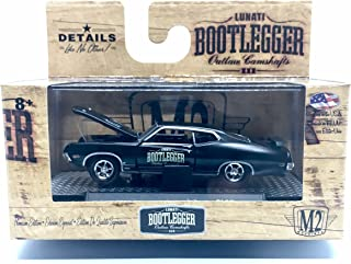 M2 Machines 1970 Ford Torino Cobra Bootlegger Series Release BL02 - Castline 2016 Special Edition 1:64 Scale Die-Cast Vehicle (BL02 16-27)