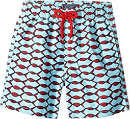 Fishnet Swim Trunk (Toddler/Little Kids/Big Kids)