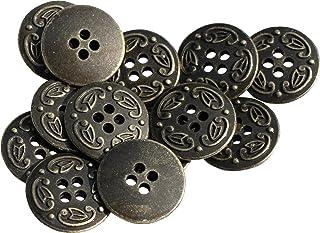 1 Dozen Medieval Castle Antique Silver Vintage Shank Buttons  K4669 Several Sizes Available.