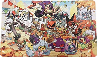 Pokemon Themed Playmat - Halloween Party 2020 - Card Game Mat - Large (23.5 inches x 14 inches)
