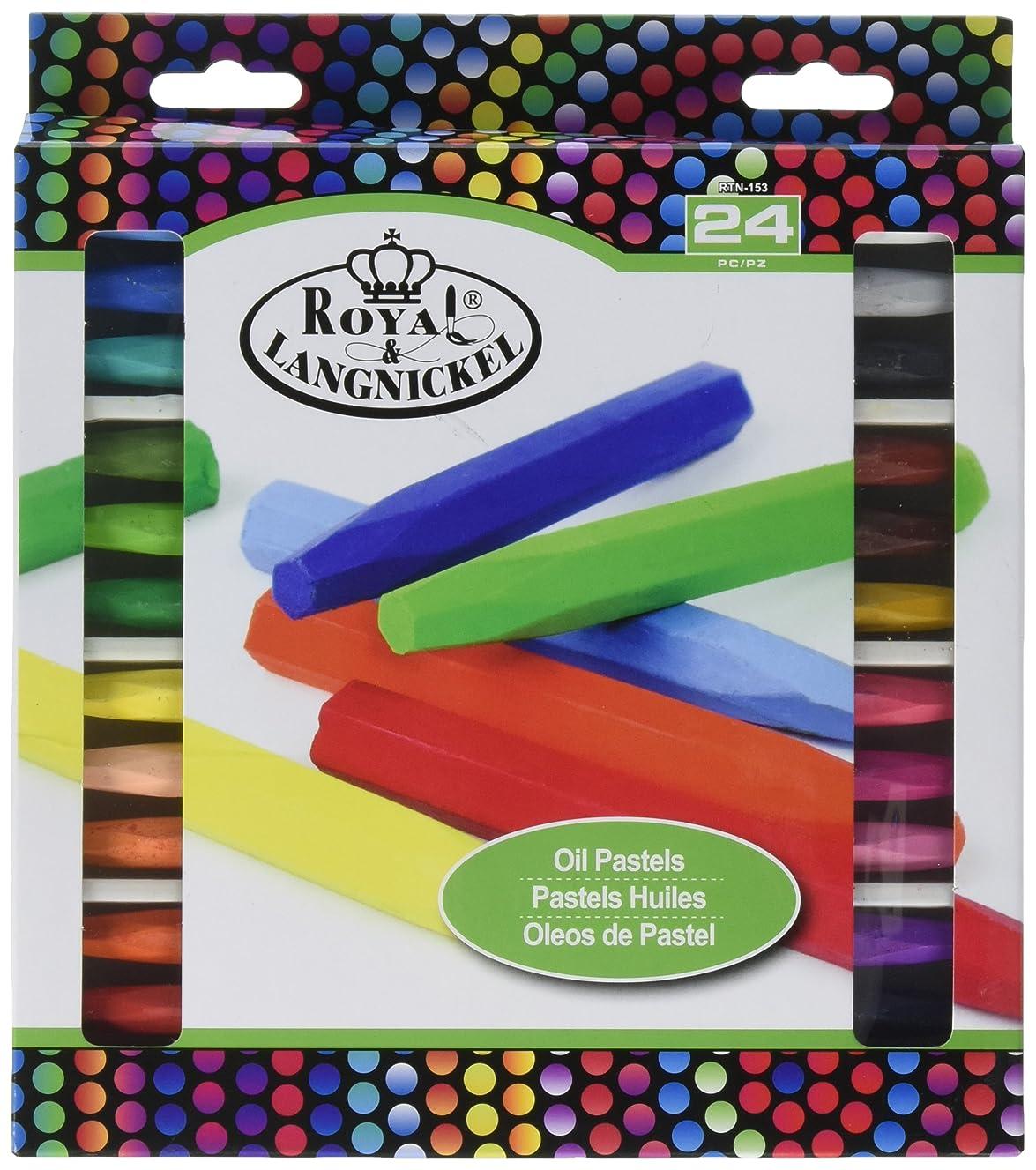 ROYAL BRUSH Oil Pastels-24/Pkg