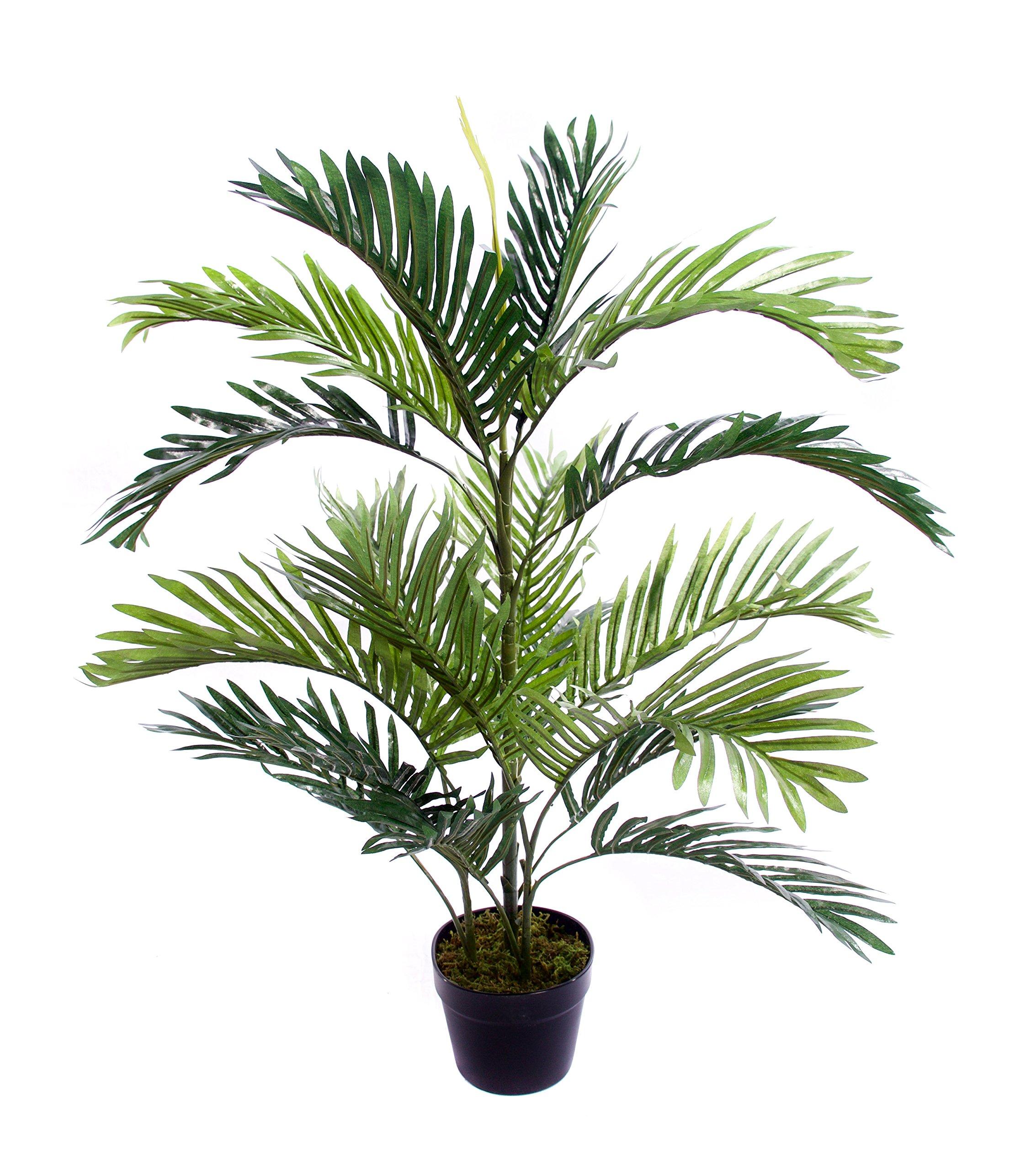 Best Artificial - Palmera de salón de 90 cm para interior y exterior, jardín de invierno tropical, oficina, planta de jardín: Amazon.es: Hogar