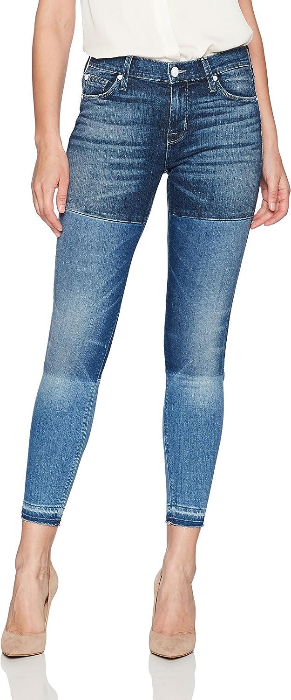 Hudson Jeans Womens Isla Midrise Crop Skinny with Released Hem Jean Jeans