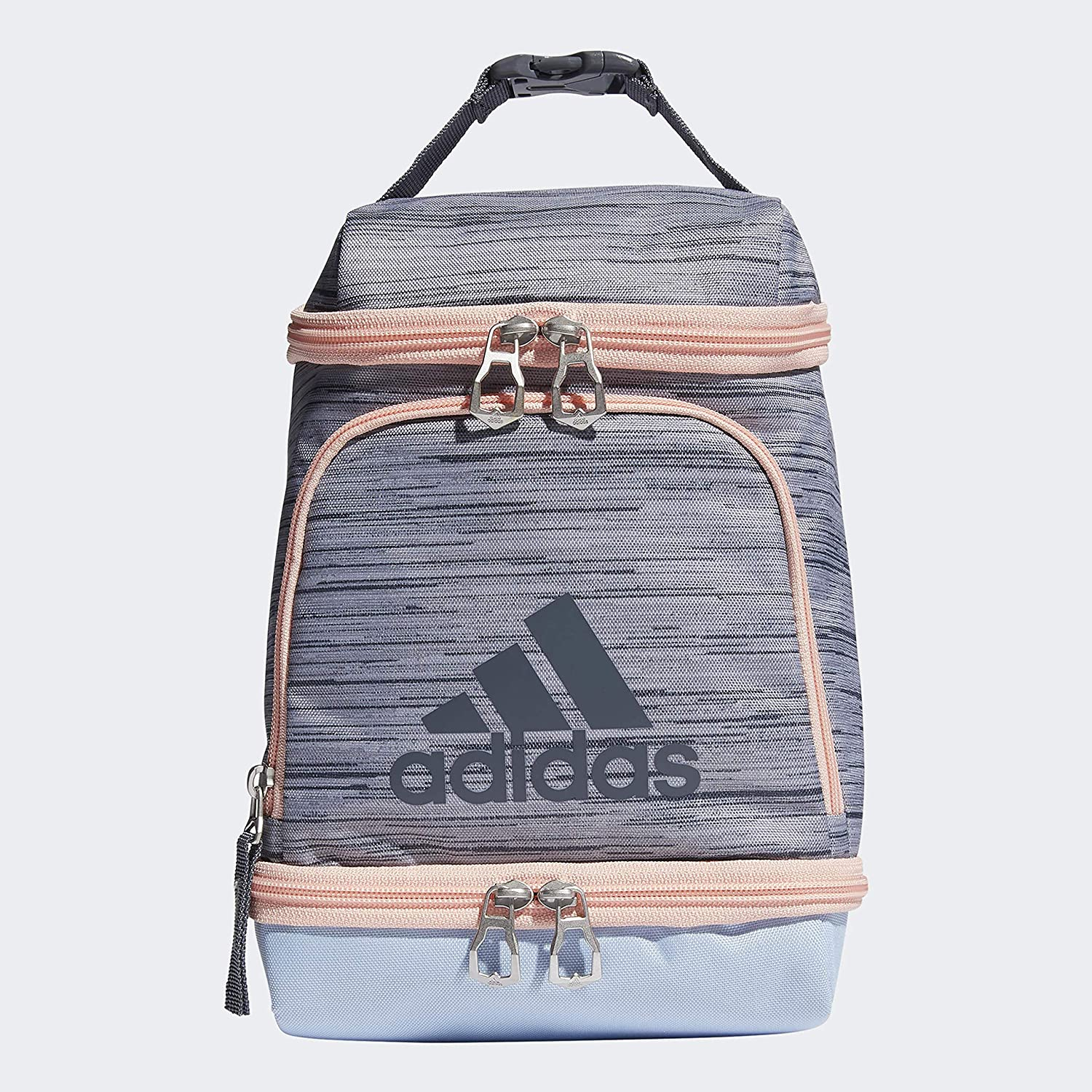 adidas Unisex Excel Insulated Fresno Mall Lunch Bag Two Grey Bl Lopper Glow sale