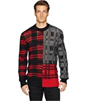 McQ - Patchwork Check Sweater