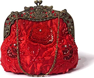 Best red beaded purse Reviews