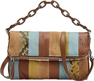 Liebeskind Berlin Women's Jane Crossbody Satchel Bag, Maple Syrup-8707, Small