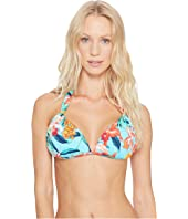 Tommy Bahama - Floriana Halter Bikini Top With Hardware