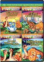 The Great valley Adventure / The Time of the Great Giving / Journey Through the Mists / Mysterious Island The Land Before Time Four Feature