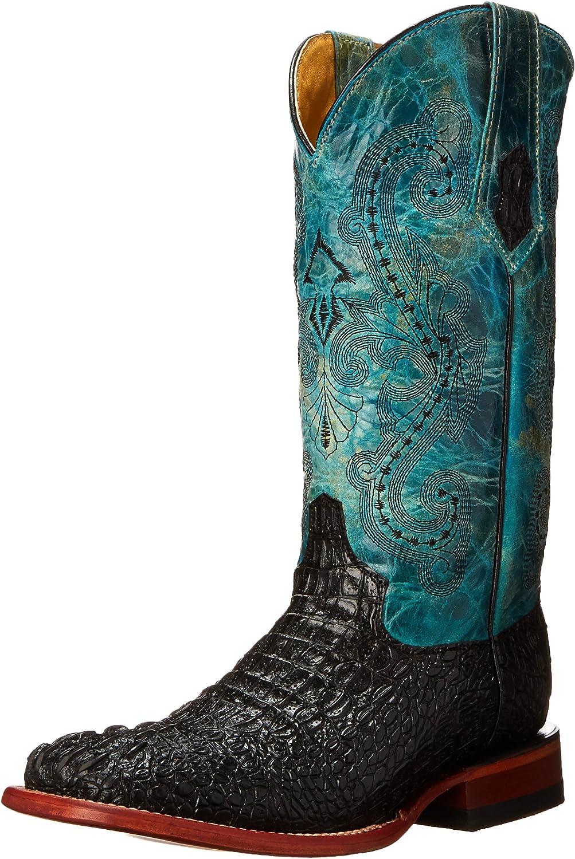 Ferrini Women's Print Caiman BT Western Boot