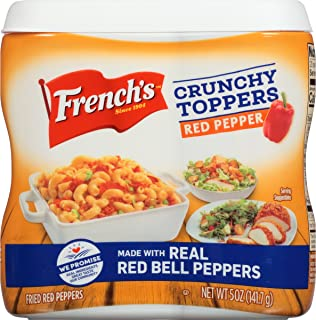 French's Red Pepper Crunchy Toppers, 5 oz