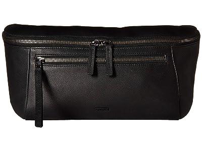 Tumi Mezzanine Stevie Sling (Black) Cross Body Handbags