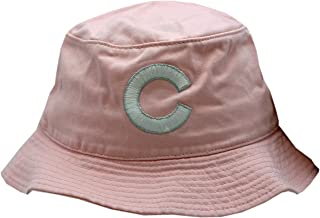 AMERICAN NEEDLE Chicago Cubs Bucket Hat Pink White/Silver C Logo S/M