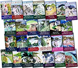 M.C. Beaton Hamish Macbeth Murder Mystery 26 Books Collection Pack Set RRP: £181.74 (Death of a Snob, A Highland Christmas...