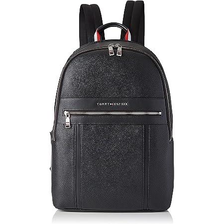Tommy Hilfiger TH Downtown Backpack, Mochila para Hombre, Black, Medium