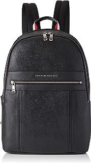 Tommy Hilfiger Mäns TH Downtown ryggsäck ryggsäck, svart, en storlek