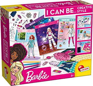 Lisciani 81141 Barbie I Can Be…. Creative Style