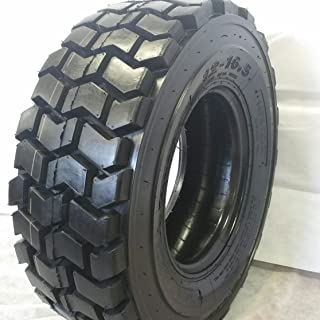 Set of Four (4) 12-16.5 Skid Steer Loader Tire, 14 PLY, RS 102