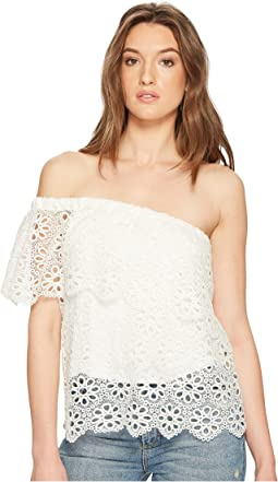 Jack by BB Dakota - Lolita Floral Eyelet Top