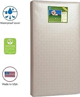 Sealy Baby Soybean Foam-Core Waterproof Standard Toddler & Baby Crib Mattress –..