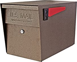 Mail Boss 7108 Security Curbside Locking Mailbox, Bronze