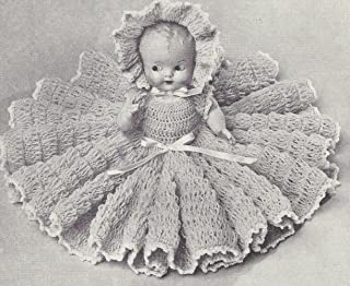 vintage bed doll crochet patterns