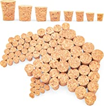 Tapered Cork Plugs (8 Sizes, 80 Pack)