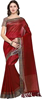 Rajnandini Women's Tussar Silk Printed Saree