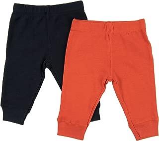 orange leggings for babies
