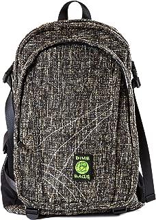 Original Hemp Backpack - Knapsack w/Smell Proof Pouch & Secret Pocket (Concrete)