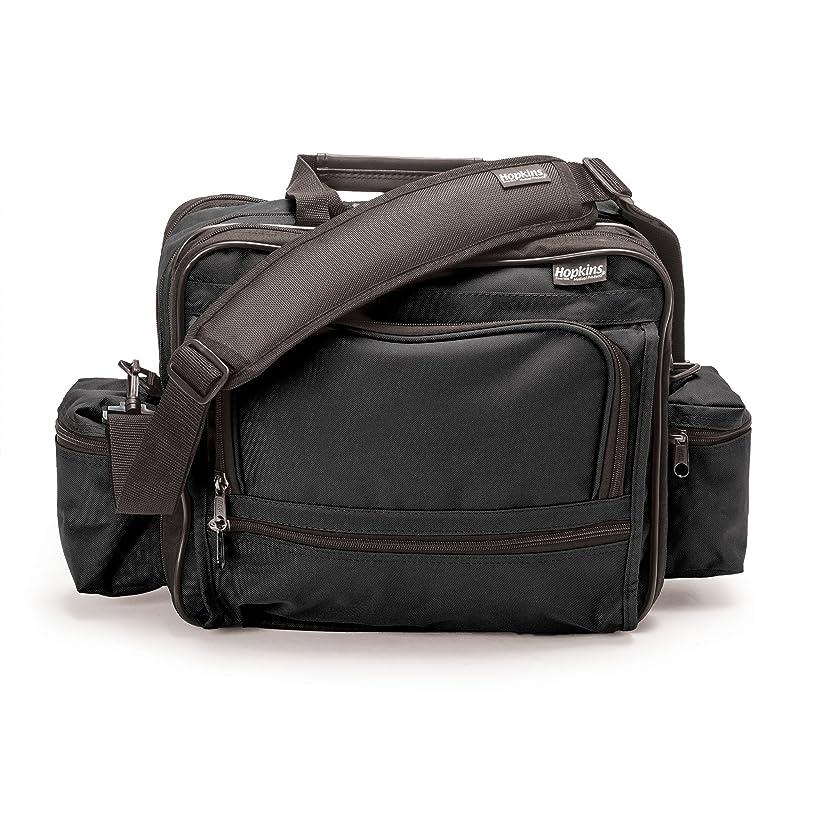 Hopkins Medical Products Mark V Shoulder Bag for Nurses and Home Health Professionals (Black)