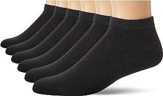 Hanes Men's 6-Pack ComfortBlend Reinforced Low Cut Socks