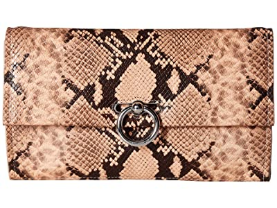 Rebecca Minkoff Jean Convertible Clutch (Rosewood) Handbags