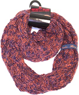NCAA mens Duo Knit Infinity Scarf