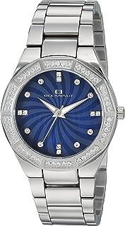 Oceanaut Women's Athena Quartz Watch with Stainless-Steel Strap, Silver, 19 (Model: OC0255)