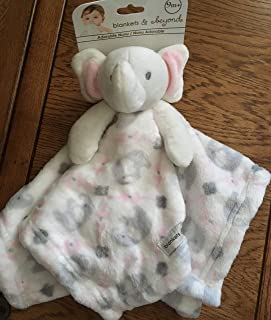 Blankets and Beyond Baby Plush Elephant Blanket Pink
