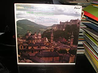 HAYDN, CONCERTO IN D MAJOR, BACH, CONCERTO IN D MINOR, SYLVIA MARLOWE,HARPSICHORD, CONCERTS ARTS CHAMBER ORCHESTRA, CAPITOL, P 8375
