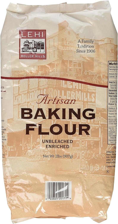 Financial sales sale Lehi Roller Mills Artisan Baking Flour 2 Memphis Mall Pack Lbs of