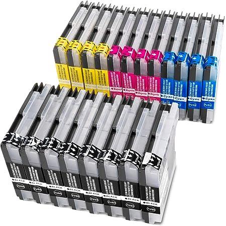 20 Brother Komp Druckerpatronen Für Lc 985 980 1100 Esmonline Bürobedarf Schreibwaren
