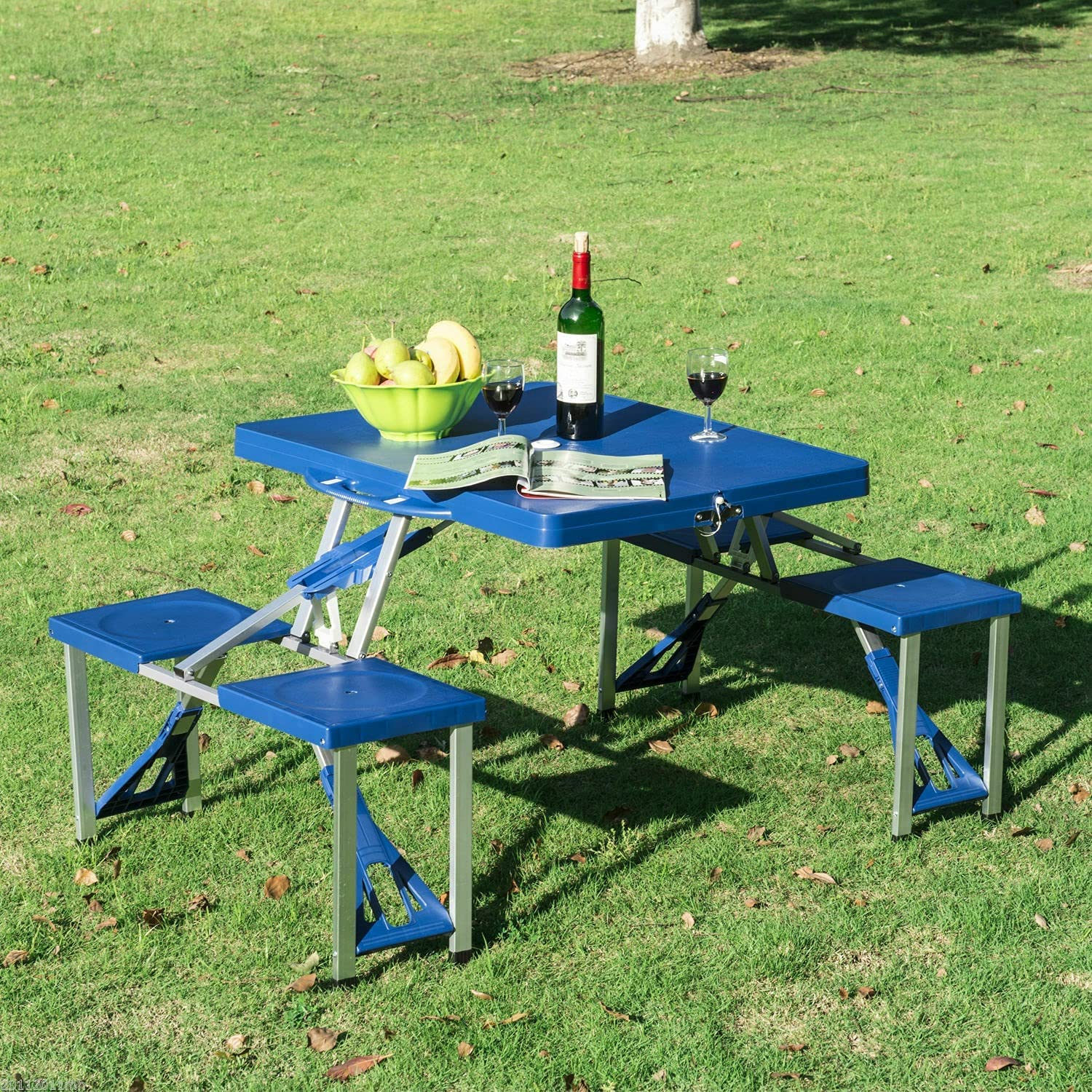 Kosoree Portable Folding Ranking Super Special SALE held TOP1 Plastic Camping 4 Seats Picnic Ou Table